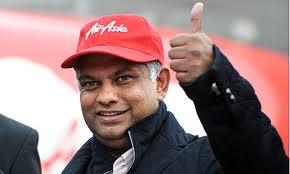 Tony Fernandes Dan Air Asia Dah Ikhwan Blog