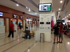 Stesyen Bas Kuching Central yang baru beroperasi