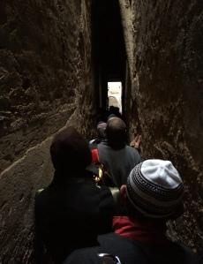 Beginilah lorong sempit yang kita lalui di pasar Fez. Mod pengangkutan masih lagi menggunakan keledai