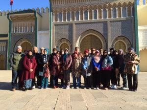 Group photo sejurus sebelum meninggalkan morocco
