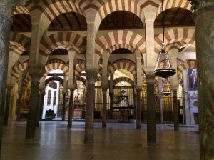 Di dalam Masjid Cordoba, malangnya orang Islam tidak dibenarkan sembahyang di sini.