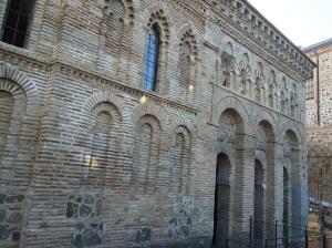 Satu-satunya kesan sebuah masjid yang kini terbiar di Toledo