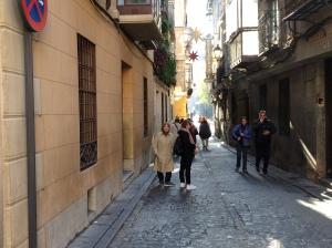 Toledo: Lorong sempit ala Arab seperti yang wujud 1000 tahun dahulu